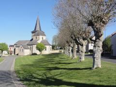 Eglise Saint-Maurice - English: Saint-Maurice-près-Pionsat (Puy-de-Dôme) église, allée