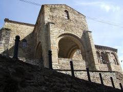 Eglise Saint-Laurent - English: Apse of the Church of Auzon (Auvergne - France)