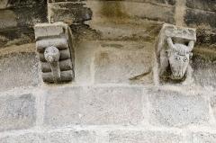 Eglise Saint-Pierre - Français:   Sculptures animales de l\'église Saint-Martin, Blesle