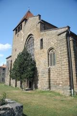 Eglise Saint-Saturnin - Deutsch: Chanteuges, Kirche, Fassade von SW