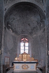 Eglise Saint-Saturnin - Deutsch: Chanteuges, Kirche, Chorapsis