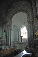 Eglise Saint-Saturnin - Deutsch: Chanteuges, Kirche, nördl. Kapellenapsis