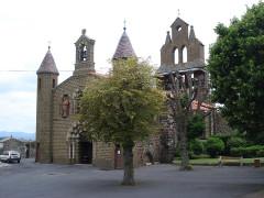 Eglise Saint-Vincent - English: Solignac-sur-Loire, église Saint-Vincent