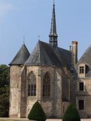 Château de La Palice (également sur commune de Saint-Prix) - Français:   Lapalisse - Château de La Palice - Chevet de la chapelle Saint-Léger