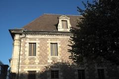 Ancien collège des Jésuites - Deutsch: Ehemaliges Jesuitenkolleg, heute Justizpalast, in der Rue de Paris in Moulins im Département Allier (Auvergne-Rhône-Alpes/Frankreich)
