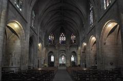 Eglise Saint-Pierre - Deutsch: Katholische Kirche Saint-Pierre in Moulins im Département Allier (Auvergne-Rhône-Alpes/Frankreich), Innenraum