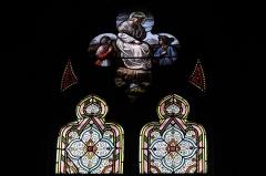 Eglise Saint-Pierre - Deutsch: Katholische Kirche Saint-Pierre in Moulins im Département Allier (Auvergne-Rhône-Alpes/Frankreich), Bleiglasfenster aus dem 19. Jahrhundert