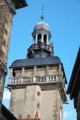 Tour de l'Horloge dite Jacquemart - Deutsch: Tour Jacquemart in Moulins im Département Allier (Auvergne-Rhône-Alpes/Frankreich)