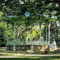 Kiosque du parc des Bourins -  Kiosque du parc des Bourins à Vichy