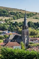 Abbatiale Saint-Géraud - English: View of the Saint Gerald abbey church of Aurillac, Cantal, France