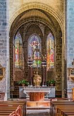 Abbatiale Saint-Géraud - English: Chancel in the Saint Gerald abbey church of Aurillac, Cantal, France
