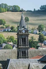 Eglise Notre-Dame-aux-Neiges - English: View of the Our Lady of the Snow church of Aurillac, Cantal, France