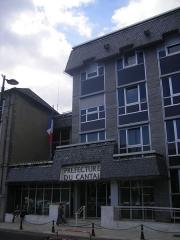 Hôtel de la Préfecture -  Aurillac - prefecture of Cantal