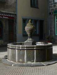 Fontaine -  Foutain (XVIII century)..