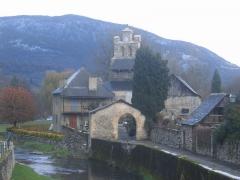 Eglise Notre-Dame-de-Tramesaygues -  Village d\'Audressein dans l\'Ariège.