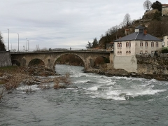 Pont - Français:   Pont de Saint-Lizier monument inscrit MH en 1927