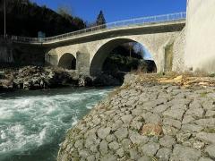 Pont - Français:   Saint-Lizier (Ariège, France) - Pont de saint-Lizier.