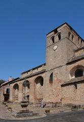 Ancien prieuré Saint-Michel -  Eglise Saint-Michel à Castelnau Pegayrols