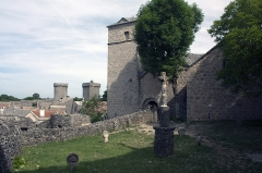 Eglise et ancien cimetière -   Cemetery of the Church of Saint Christopher, aka Sant Critòl, in Occitan.