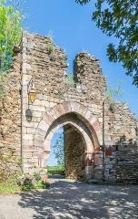 Restes de la porte de Ville - English: Porte de la Pique in Najac, Aveyron, France