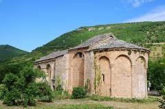 Ancienne chapelle de Saint-Martin-du-Vigan -  12th century chapel Saint-Martin-du-Vican at Nant