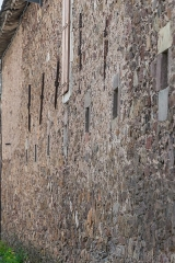 Ancienne chartreuse - English: Wall of the national horse stud farm in Rodez, Aveyron, France