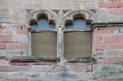 Maison des Anglais - English: Windows of the Maison de Guitard in Rodez, Aveyron, France