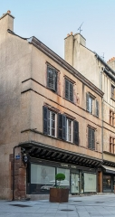 Maison - English: Building at 4 rue d'Armagnac in Rodez, Aveyron, France