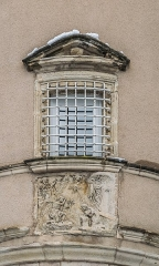 Maison Renaissance dite de l'Annonciation - English: Window of the House of the Annunciation in Rodez, Aveyron, France