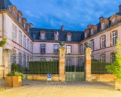 Préfecture - English: Hôtel Le Normant d'Ayssènes in Rodez, Aveyron, France