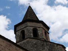Eglise du Bourg - Français:   Clocher octogonal de l\'église Saint-Paul située dans le Bourg