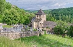 Eglise Saint-Austremoine - English: Saint Austremonius church in commune of Salles-la-Source, Aveyron, France