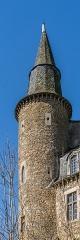 Château - English:   Turret of the castle of Vézins-de-Lévézou, Aveyron, France