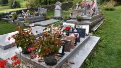 Chapelle Saint-Tritous - Nederlands: Chapelle Saint-Pé de la Moraine Garin - graven