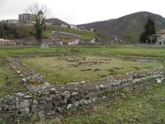 Ruines antiques -  Forum Lugdunum Convenarum, Saint-Bertrand-de-Comminges, France