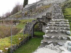Ruines antiques -  Roman Theatre Lugdunum Convenarum, Saint-Bertrand-de-Comminges, France