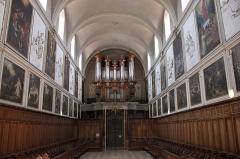 Ancienne chartreuse - Orgue et stalles de l'église Saint-Pierre des Chartreux à Toulouse