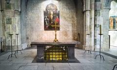 Ancien couvent des Jacobins - English:  Church of the Jacobins - Altar of St Thomas Aquinas - Reliquary
