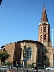 Eglise et ancien couvent des Minimes -  L'église des Minimes, Avenue des Minimes, Toulouse