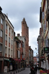 Eglise Notre-Dame-du-Taur -  Notre Dame du Taur; Toulouse, Midi-Pyrénées, France