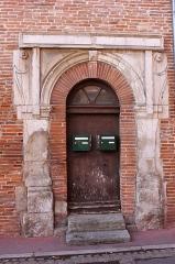 Ancien hôtel de Lestang - Français:   Hôtel de Lestang, fin 16ème - début 17ème siècles, Toulouse.