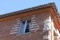 Ancien hôtel de Lestang - Français:   Fenêtre de l\'hôtel de Lestang