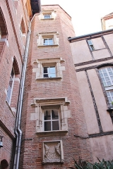 Hôtel Reynier - Français:   Tour Reynier (fin XVème ou début XVIème siècle)