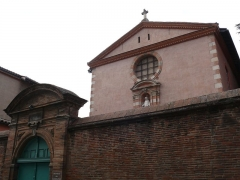 Ancien grand séminaire - English: The chapel of the Carmelites of Toulouse (Haute-Garonne, Midi-Pyrénées, France).