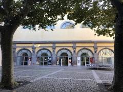 Ancien petit Séminaire de l'Esquile -  Cour de la cinémathèque de Toulouse