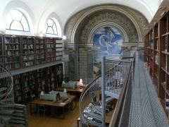 Ancien petit Séminaire de l'Esquile - Français:   Salle de lecture de la bibliothèque de la Cinémathèque de Toulouse.