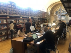 Ancien petit Séminaire de l'Esquile - Français:   Participants à l\'atelier en cours de contribution