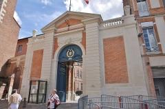Ancien palais archiépiscopal - Français:   Palais archiépiscopal de Toulouse, fin XVIIème siècle.