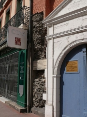 Rempart gallo-romain - English: The Maison Seilhan, in Toulouse (Haute-Garonne, France).