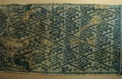Ancien couvent des Jacobins -  Tissu de la culture Chancay (1200-1450 + JC). Il s'agit d'une des cultures pré-Inca, située au Pérou.Musée d'Auch.
